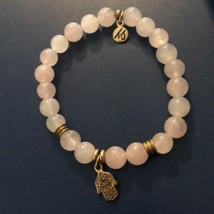Tiffany Jazelle rose quartz bracelet